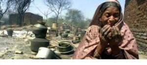 A Muslim woman made destitute during Gujarat genocide 2002