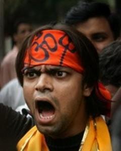 A Hindu extremist