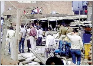 Demolition of illegal construction