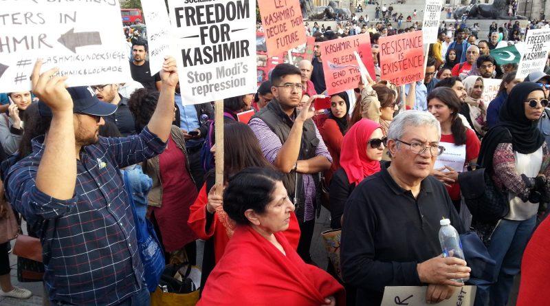 UK Asians Express Solidarity with Kashmiris, Hold Massive Rallies Against BJP's Hindutva