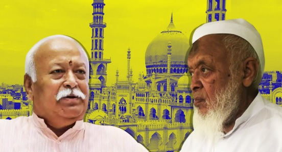 Cracks Appear in Madani-Bhagwat Friendship